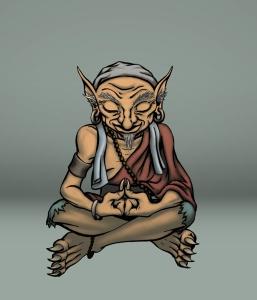 Meditating-Goblin