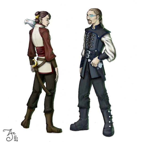 cyberpunk pirates