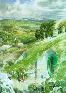Hobbiton (Alan Lee)
