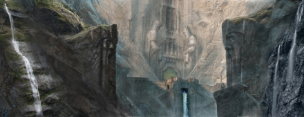 The gates of Erebor (John Howe)