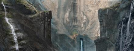 The gates of Erebor (John Howe)