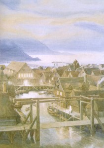 Laketown (Alan Lee)