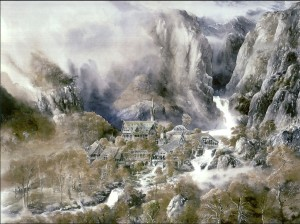 Rivendell (Alan Lee)